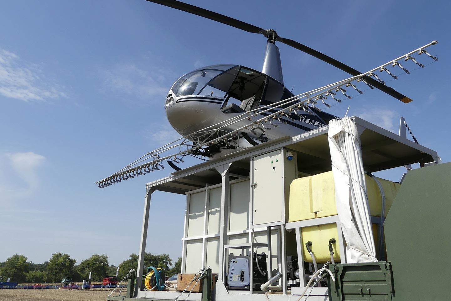 North Carolina Agricultural Helicopter Services